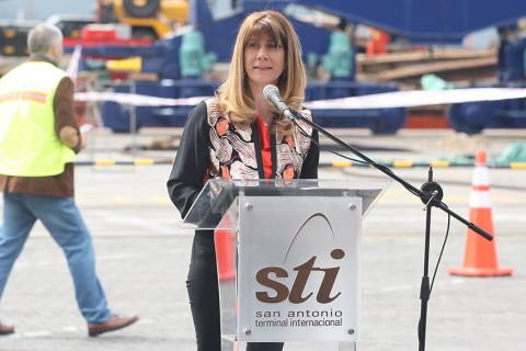 Evento inauguración nuevas grúas STI I